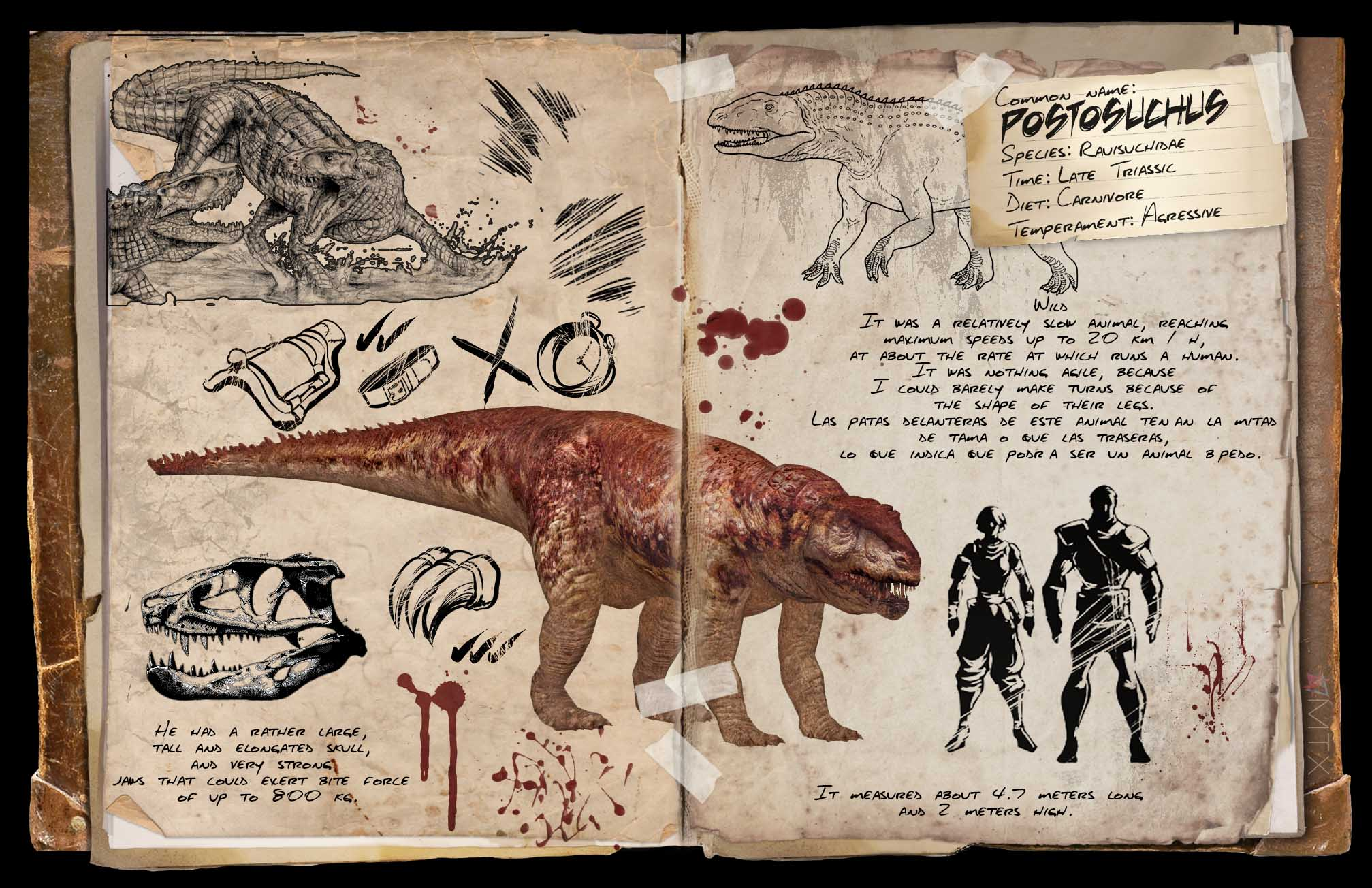 Postosuchus Dossier By Tomtoyer Featured Fanart Ark Official Community Forums | ark survival evolved e05. postosuchus dossier by tomtoyer