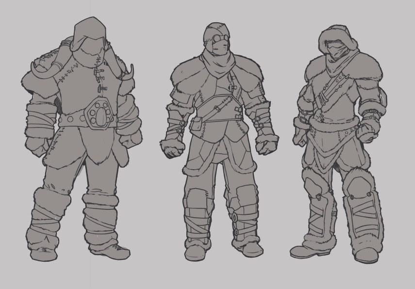 Concept: Mammoth Armour