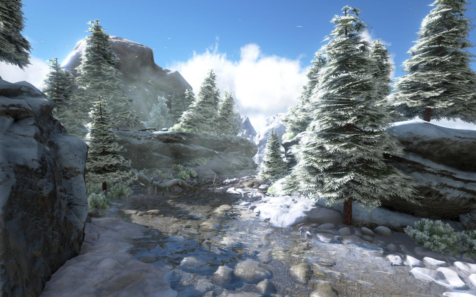 ARK Snowy Biome Concept