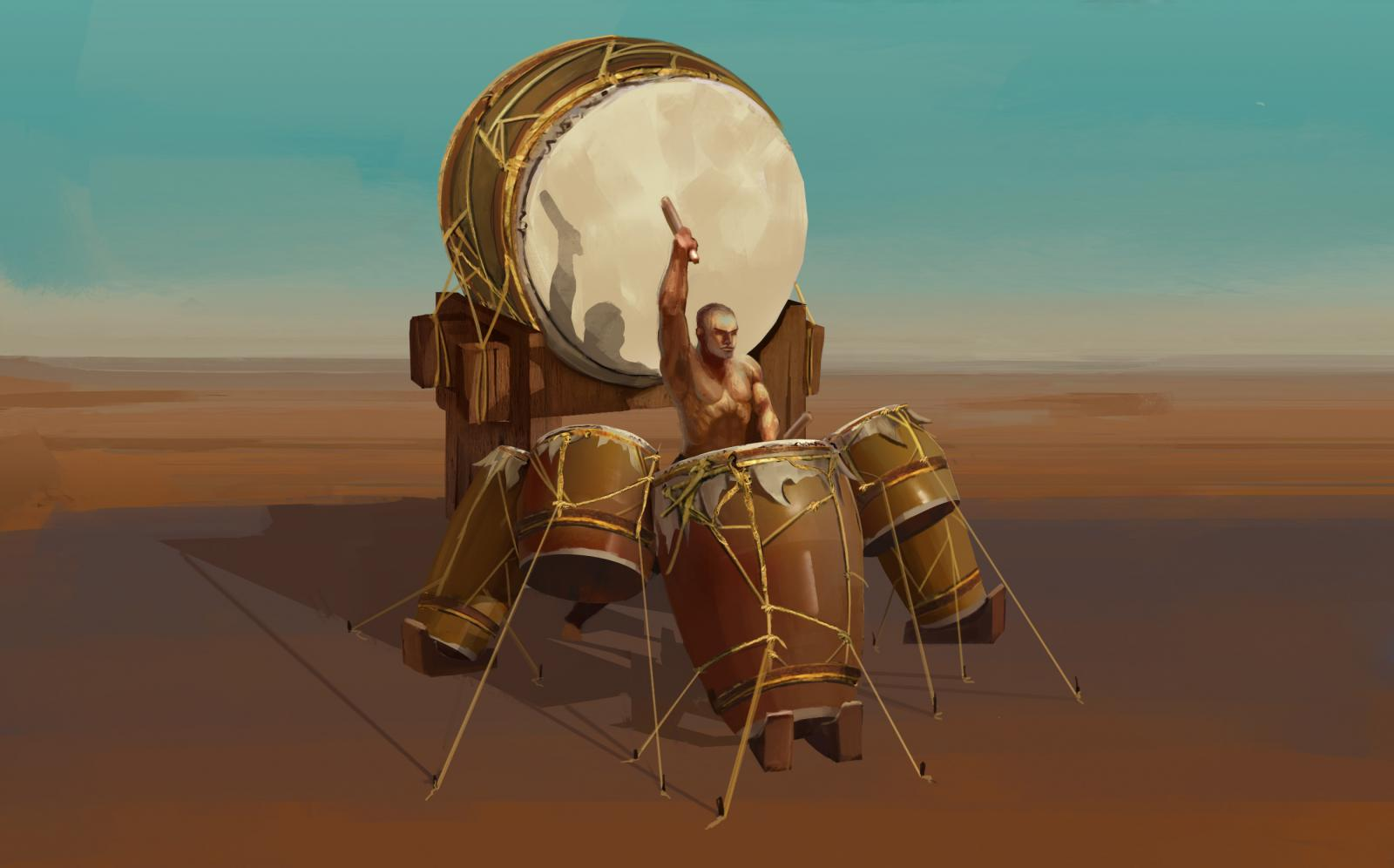 War Drums - BOOM!