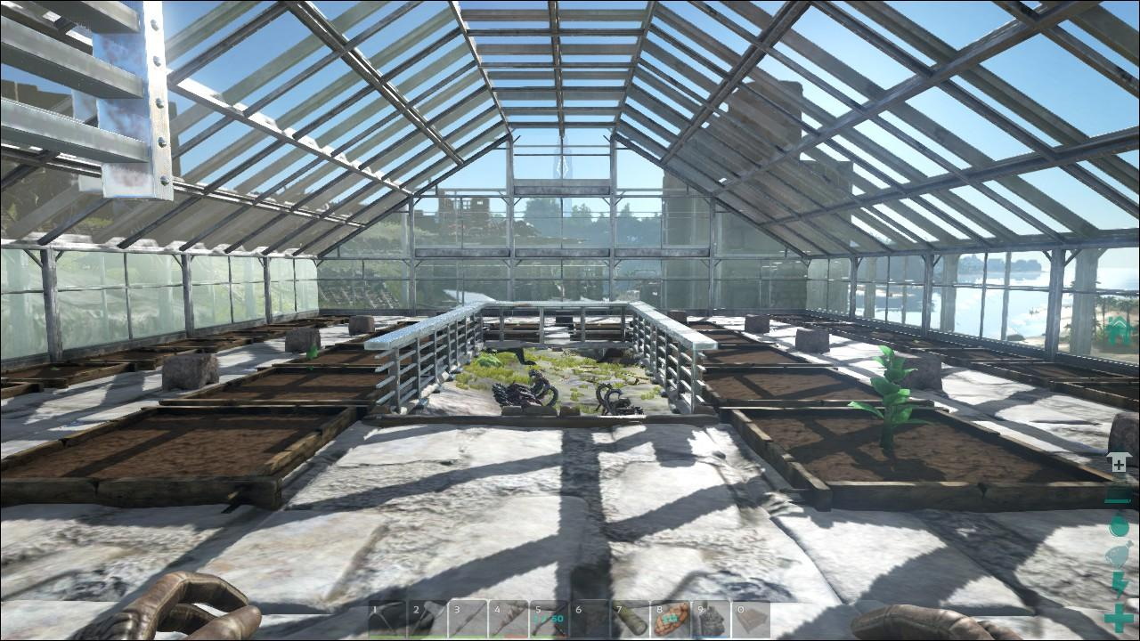 Les blueprint ark new metal spike wall ficial ark survival evolved greenhouse wip malvernweather Image collections