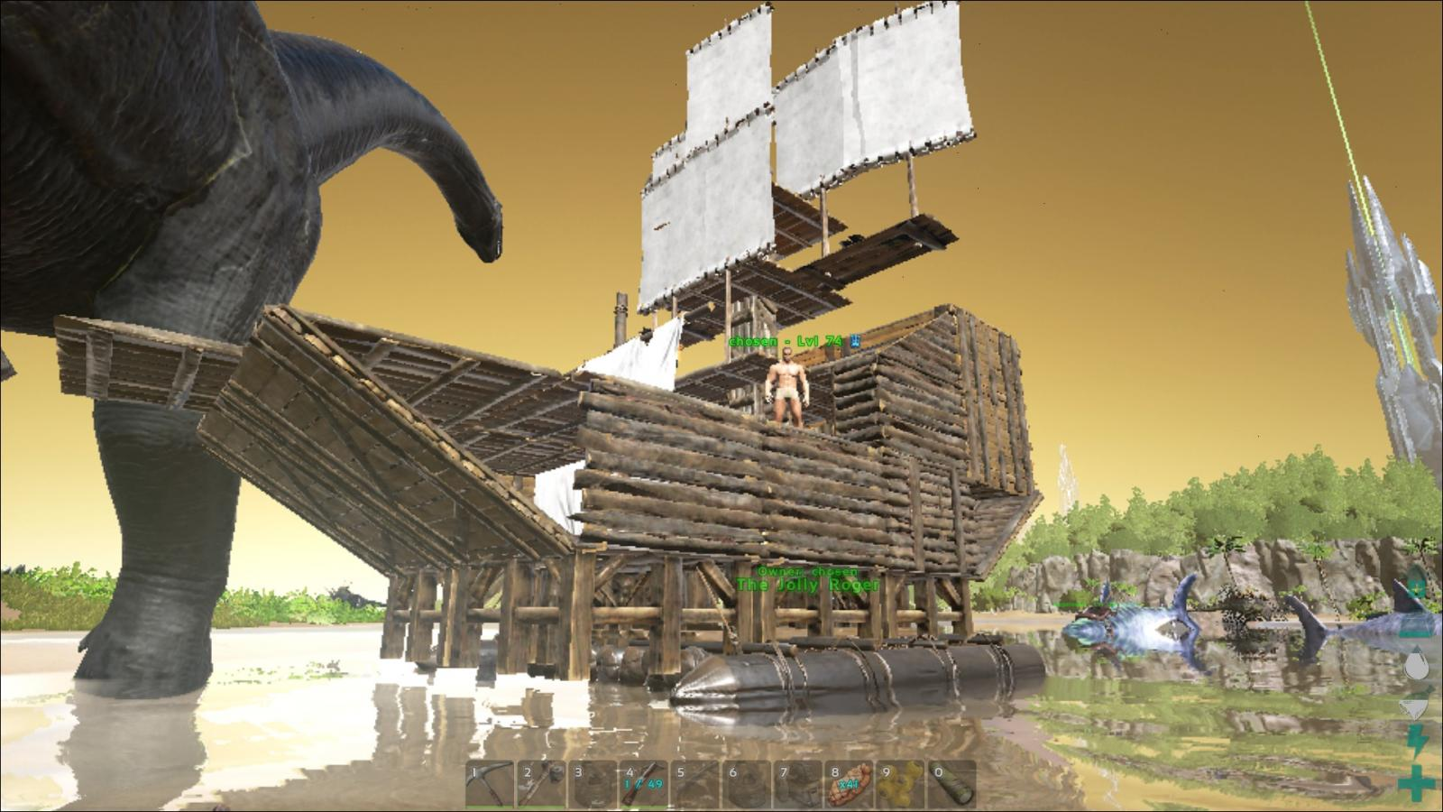Ark Raft Ship