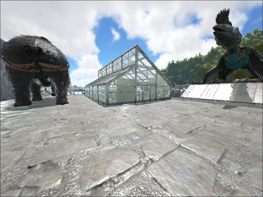 Les blueprint ark new metal spike wall ficial ark survival evolved ai main base greenhouse malvernweather Image collections