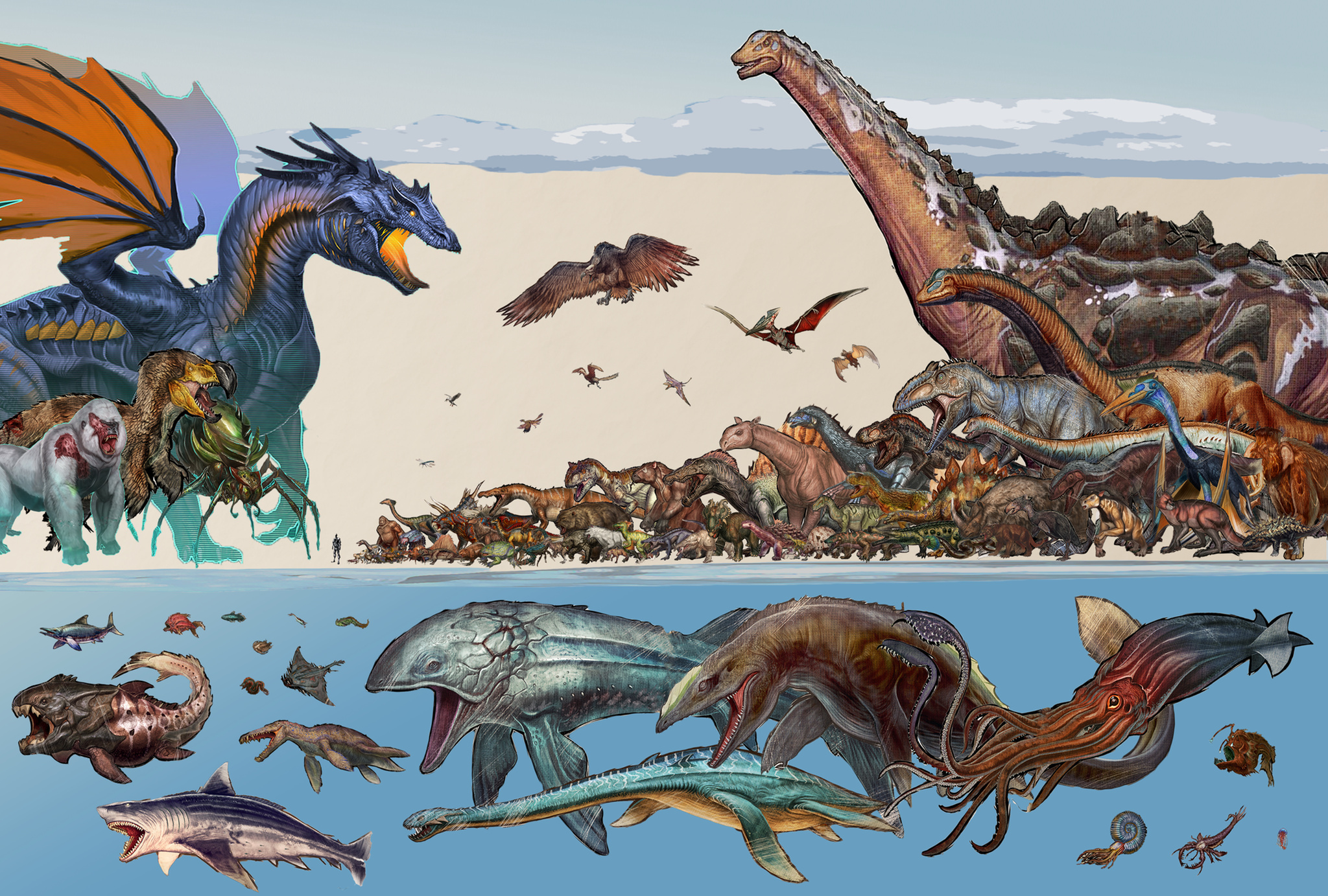 Ark The Island Megalosaurus