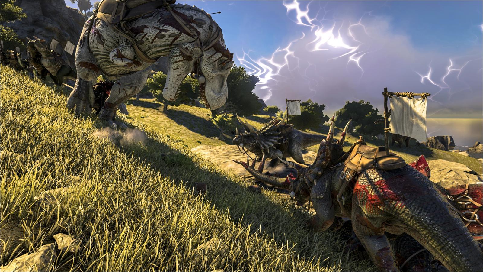 ark survival evolved gameplay pc