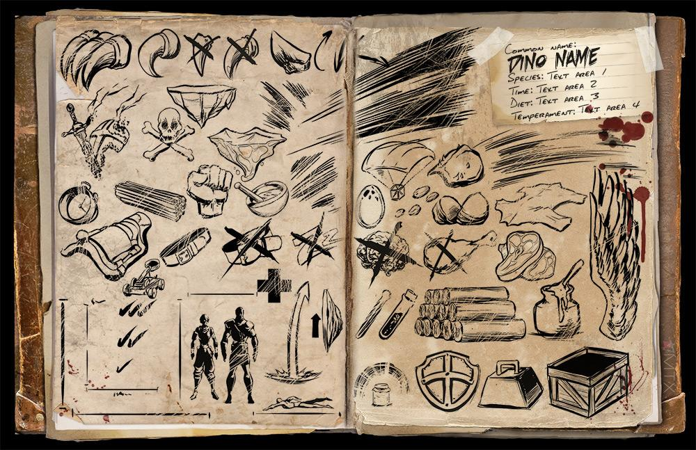 dossier template community albums ark official community forums