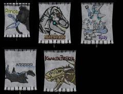 Dinoflags!