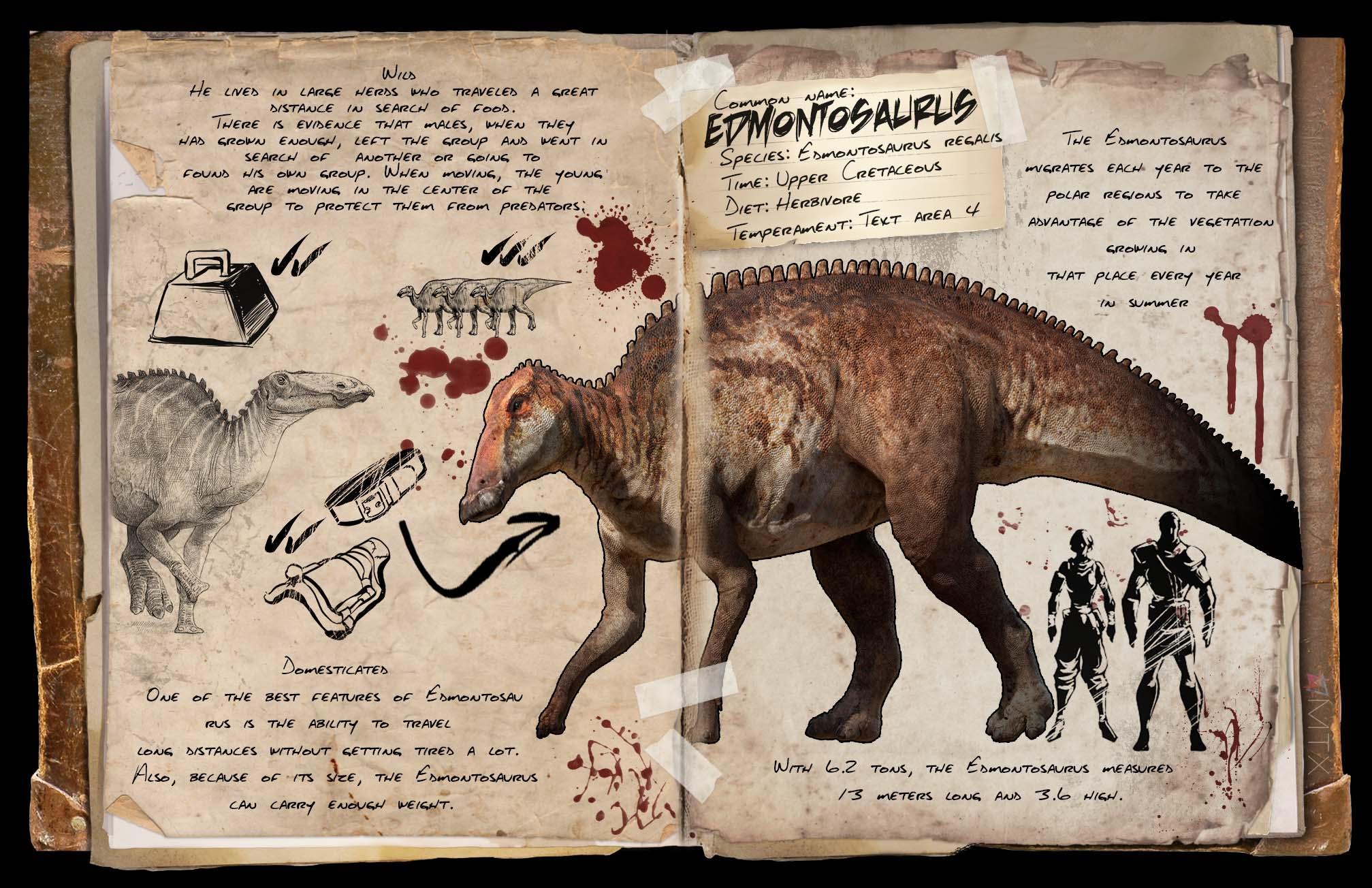 Community crunch 49 and ark digest 32 announcements ark edmontosaurus dossier by tomtoyer edmontosaurusg malvernweather Gallery
