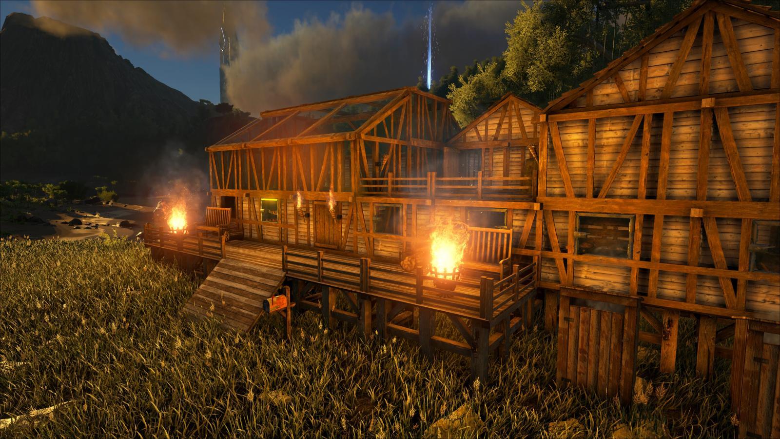 Primitive plus cabin community albums ark official for Primitive cabin plans