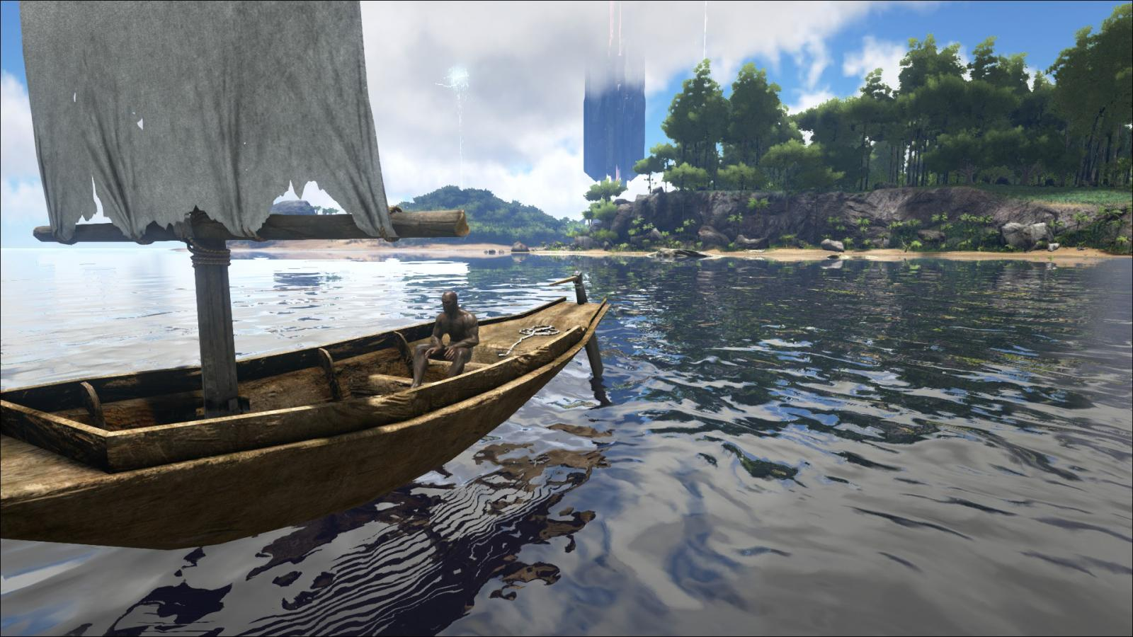 ark how to build onto a boat