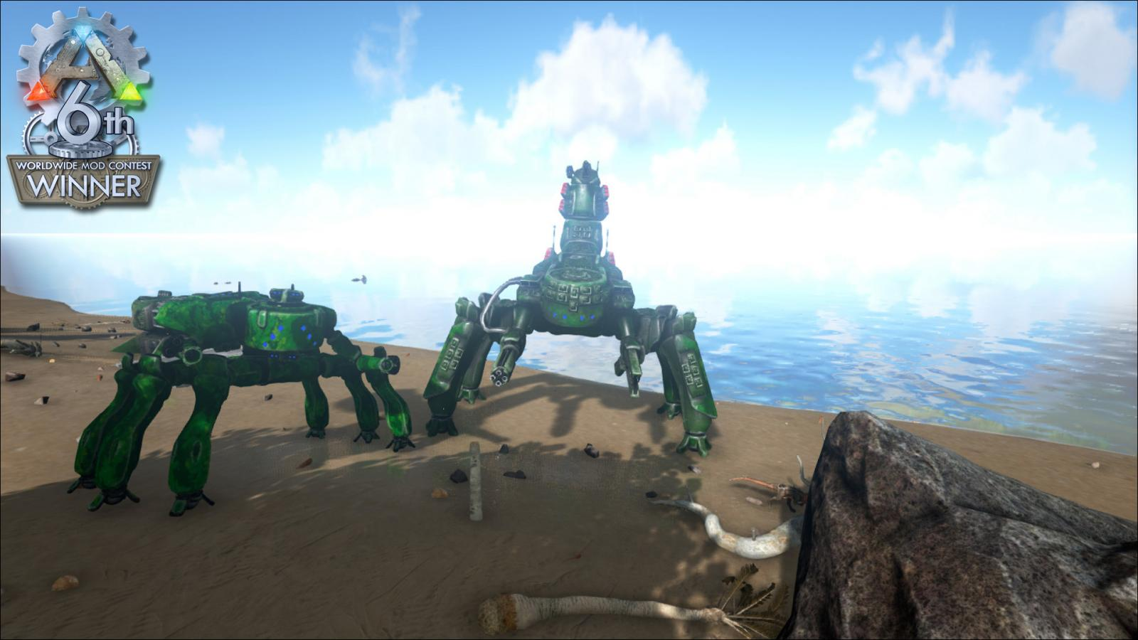 Ark Mod All Islands On One Map
