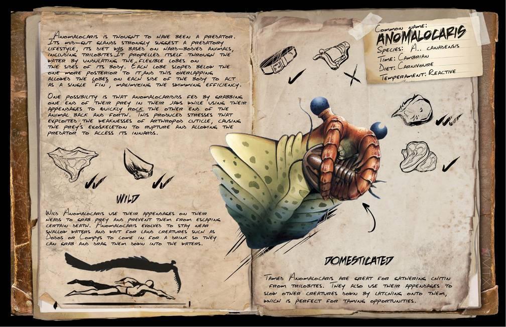 Anomalocaris dossier community albums ark official for Plant x ark aberration
