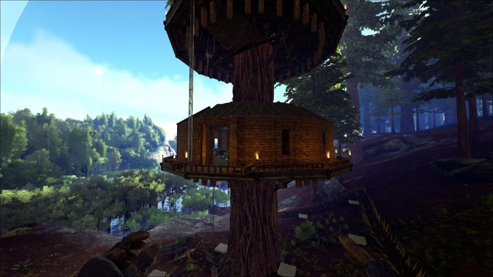how to make a base in ark