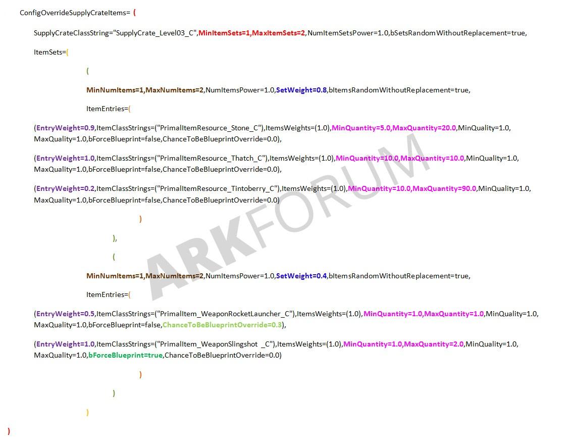 Tutorial modify loot crate contents v242 server administration lootkiste2g91e6bec7a0ee3d8e5c85e799047e421eg malvernweather Choice Image