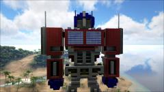 Valoule for their recreation of Optimus Prime