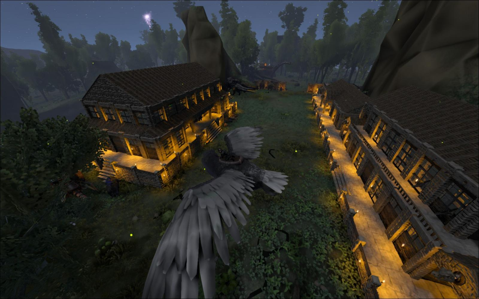 how to make my ark server pve
