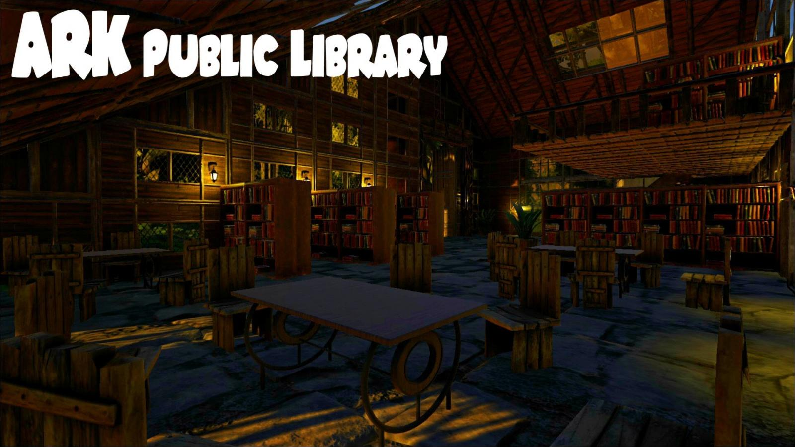 Twitchrp public library ark survival evolved by eco for Arkitect home