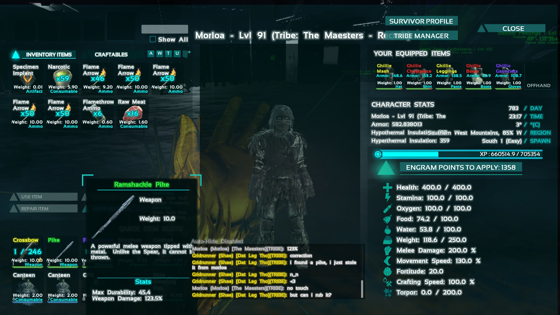 Possible weapon blueprints on se general ark official 346110screenshots201610231613421g malvernweather