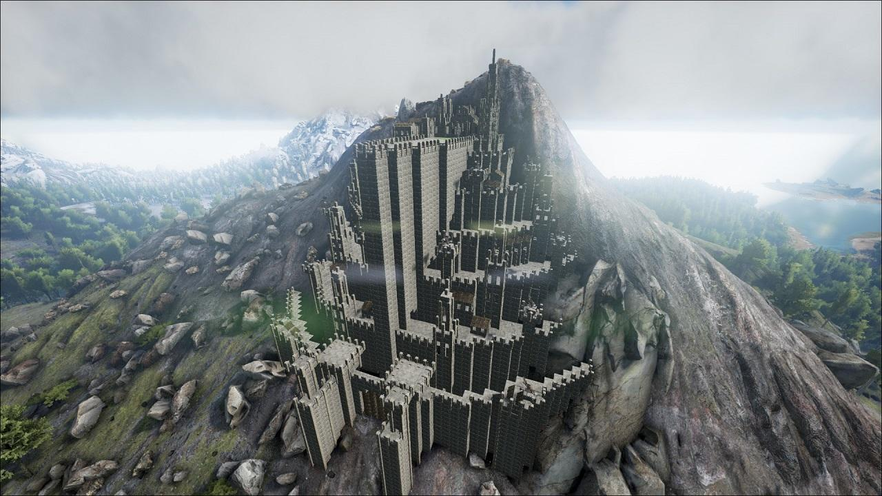 Minas tirith from lord of the rings community albums for Arkitect home