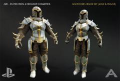 PS4 Manticore Armor
