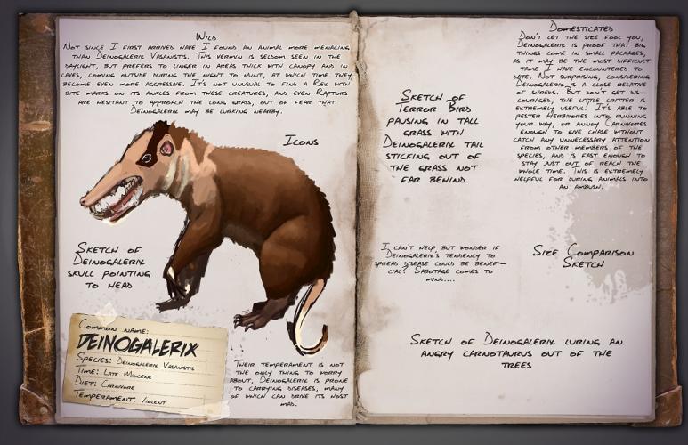 Дейногалерикс   гигантский древний еж без иголок