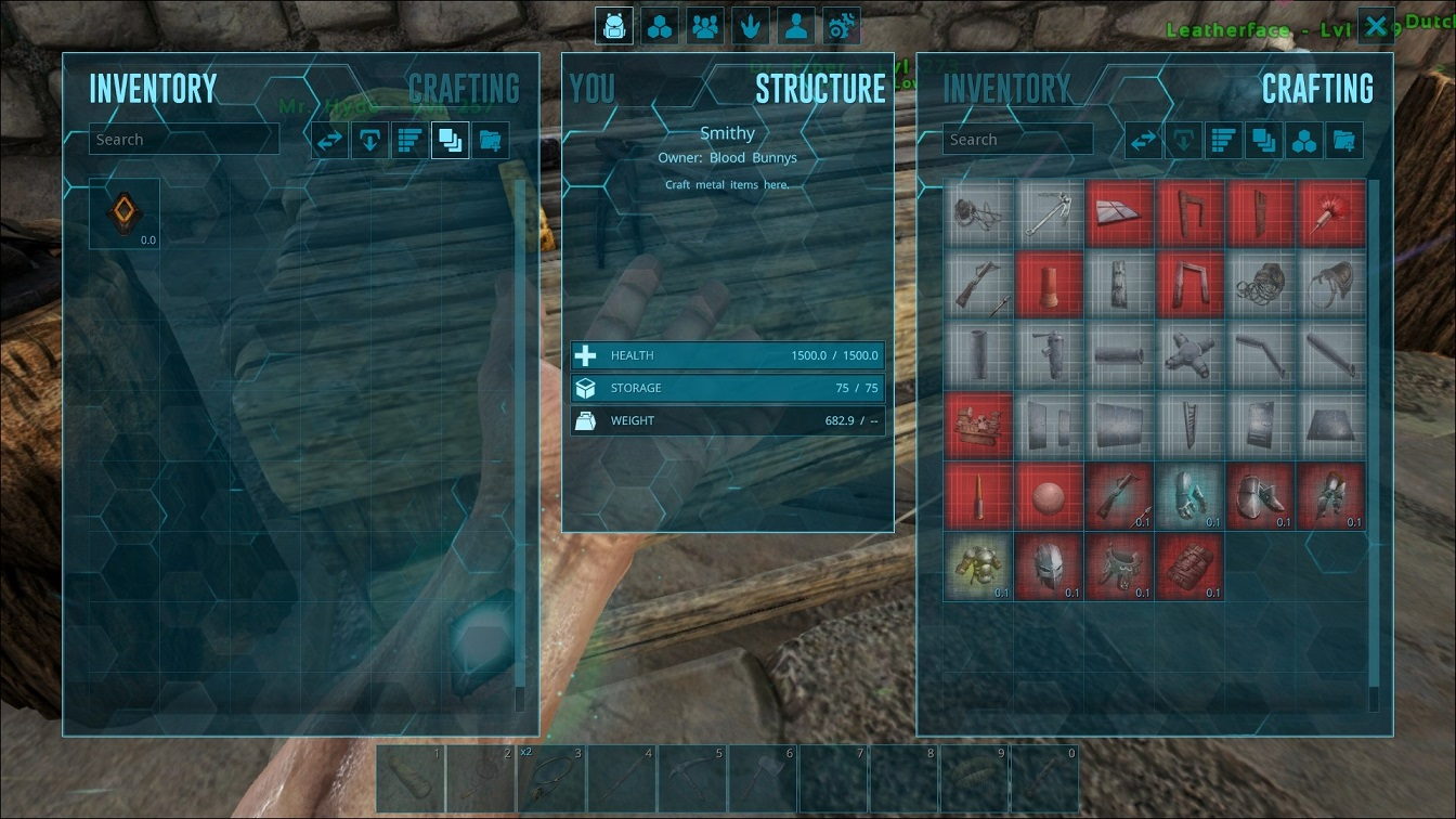 Broken crafting inventories bug reports support ark official 201704021139001g malvernweather Image collections