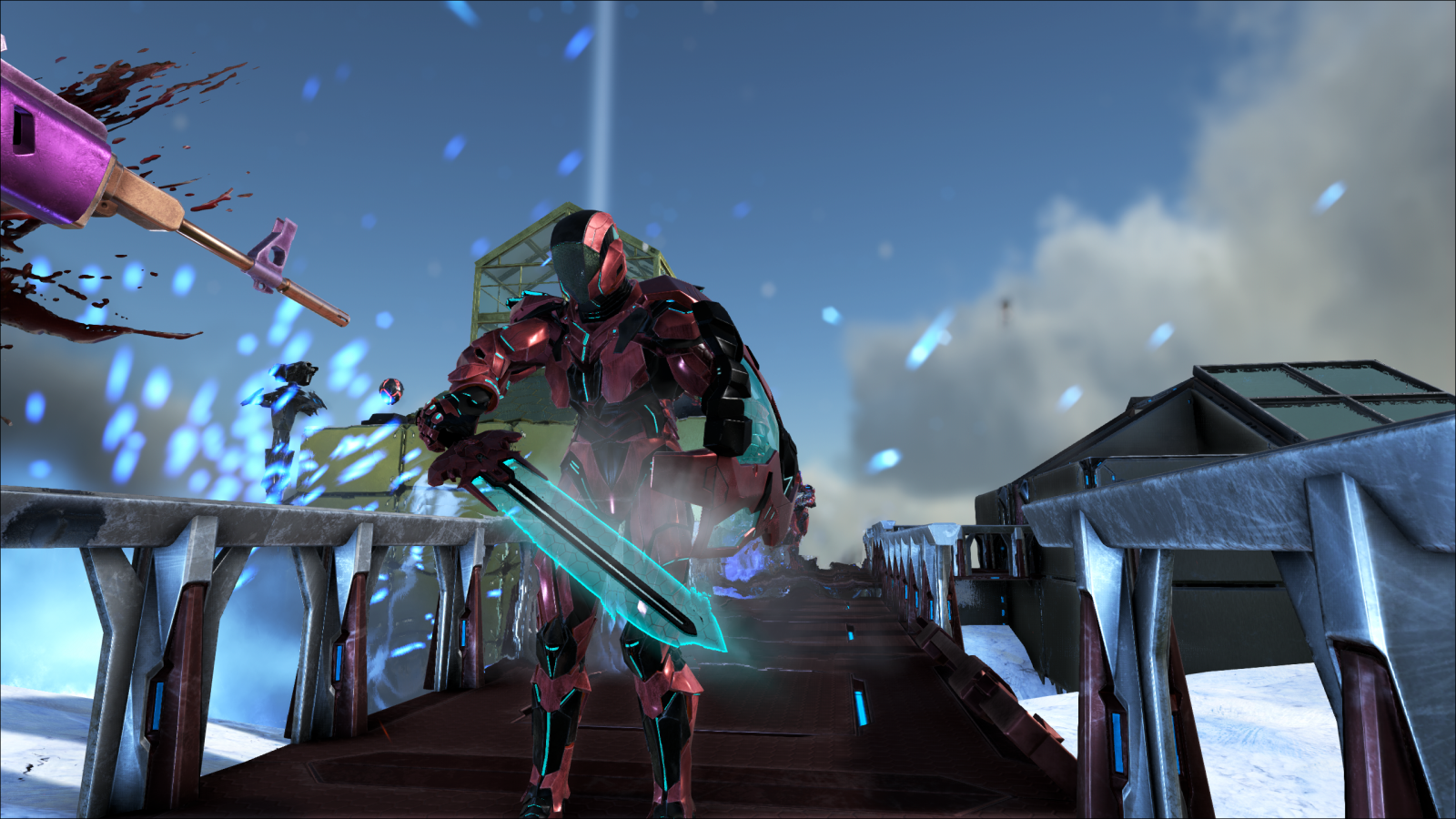 Tek Sword and Tek Shield