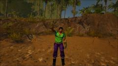 Sam Hero Of Light In:ARK Survival Evolved