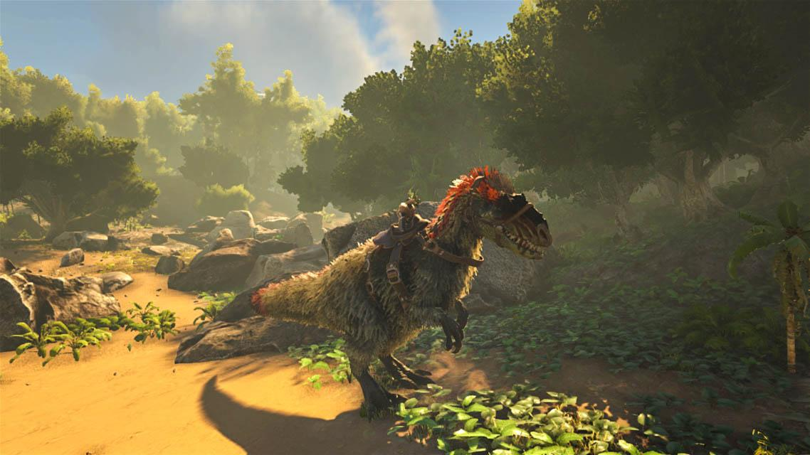 how to disable dino to follow you in ark