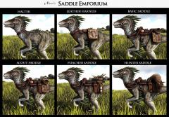 The Saddle Emporium Raptor WIP