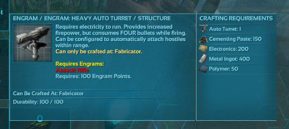 Heavy turrets resource requirements and crafting general photo2017 11 2902 23 46g malvernweather Images