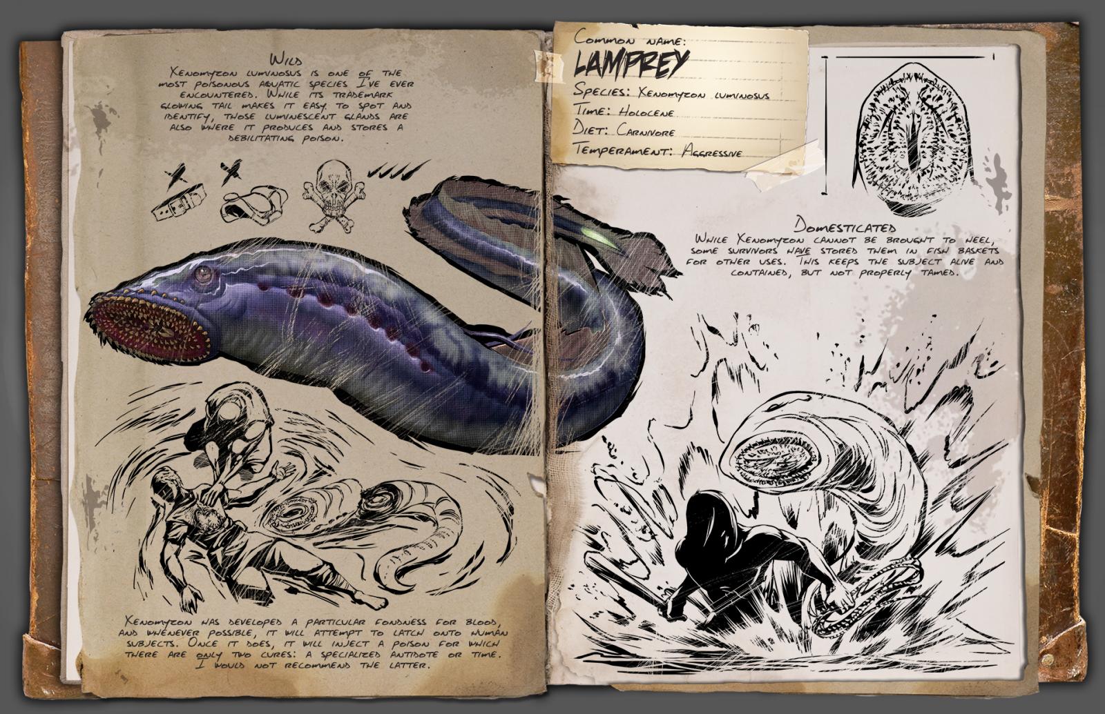 Lamprey Dossier