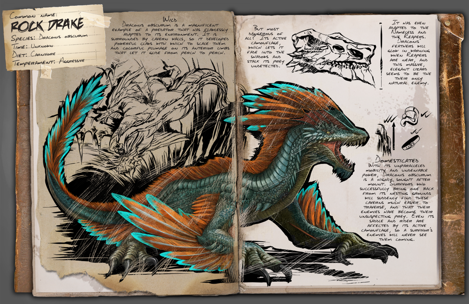 Rock Drake Dossier - Official Media - ARK - Official Community Forums
