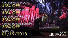 ARK PlayStation4 Winter SIEE Sale