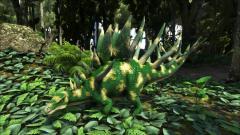 Forest Camo Kentrosaurus
