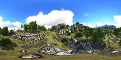 Wolf Amaterasu - Dino Retreat - 360.jpg