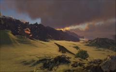 Titan on the Sunset