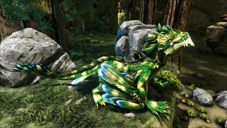 forest camo rock drake
