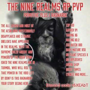 pvp] Best Prim+ RP Server! [[ The 9 Realms ]] Nitrado pvp server