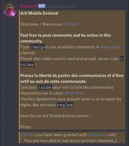 pve] [PvX][M] Ark'Mobile Evolved - Server Advertisements - ARK